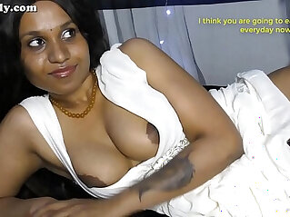 Step brother Cum eating instructions in Hindi Eng subs