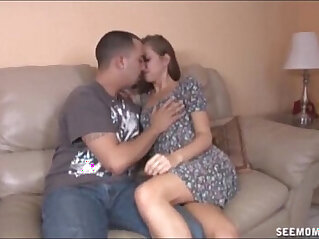 Sexy Teen And Her Step Mom Suck Cock