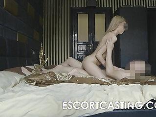 Skinny Blonde russian Teen Escort Anal Casting