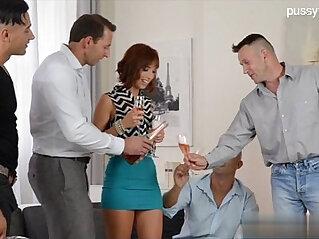 Horny mature wife analfuck