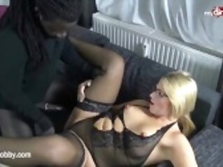 My Dirty Hobby Busty amateur blonde amateur babe takes a BBC
