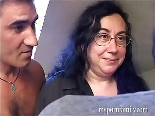 They invite the neighbor for a sexual trap