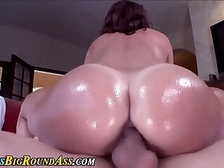 Oily big tits and ass ho