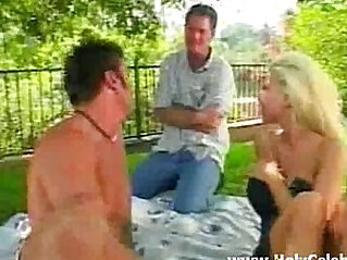 Daughter fucks by father and bf