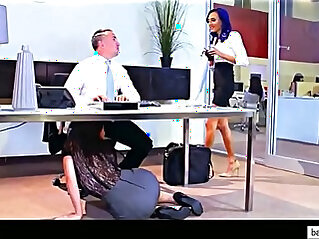 Lana Rhoades, Aidra Fox, Riley Reid Janice Griffith Office Fuck