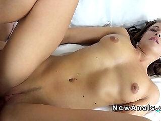 Czech girlfriend rough anal in hotel room