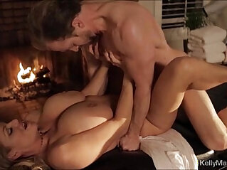 Busty hot wife gets her pussy fucked at her favorite spa