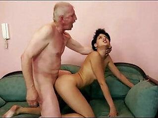 Grandpa rear fucking dirty blonde slut