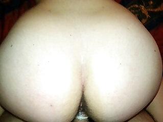 my 19 yr old slut taking dick deep..