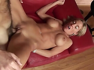 Busty mom fucks step son to keep him from moving out