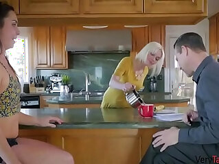 Daughter gets back at mom by fucking dad!