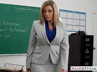 Milf sara jay fuck student