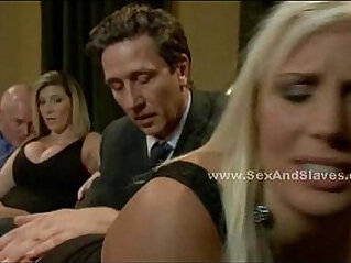 Lots of whores tied and forced to fuck in amazing group sex