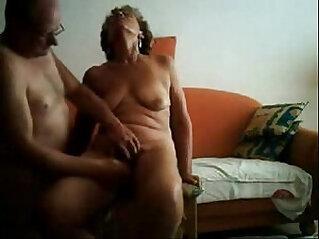 Old slut having great orgasm. Real party amateur