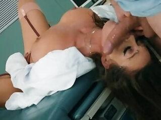 Patient with cock and viagra fucks nasty doctor